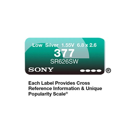 377 SONY LABEL